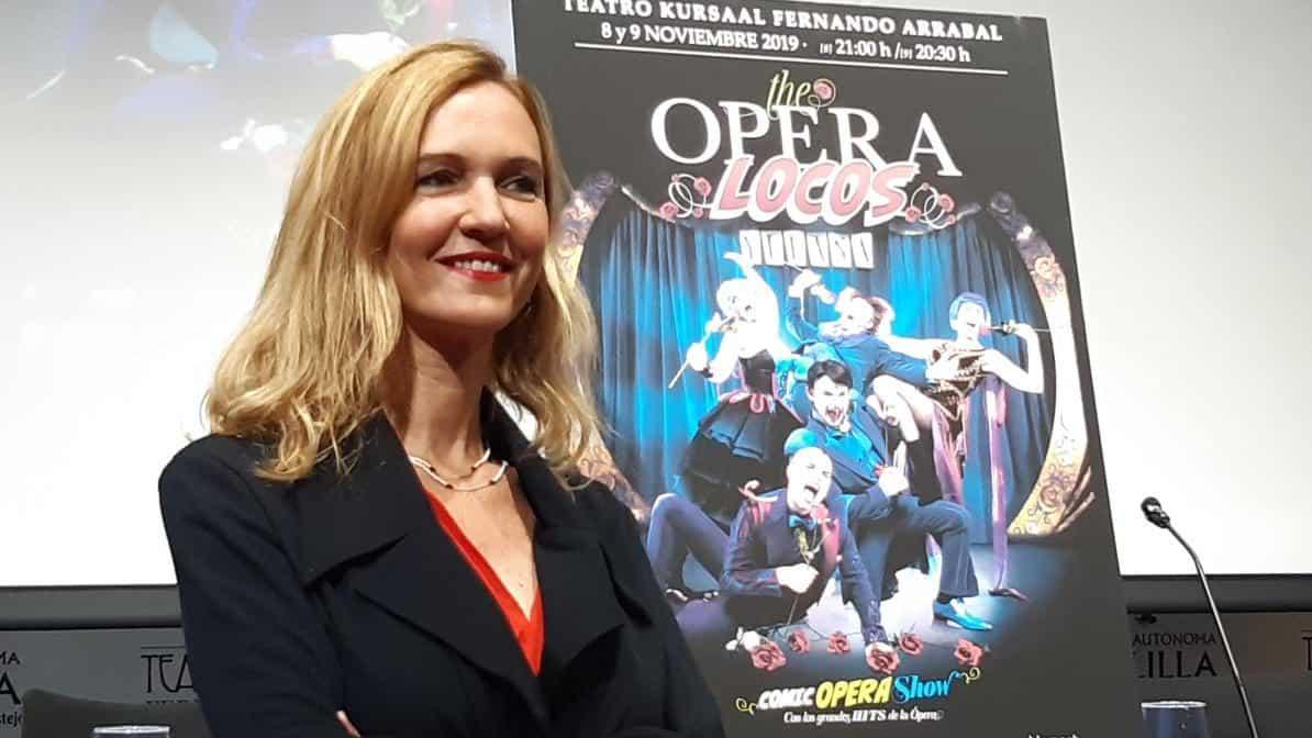 Elena Fernández, viceconsejera de Cultura, The Opera Locos
