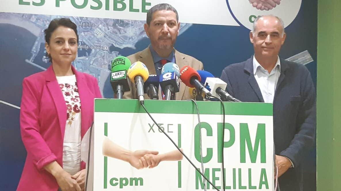 Dunia Almansouri, Mustafa Aberchán, Emilio Guerra, candidatos 10N CpM